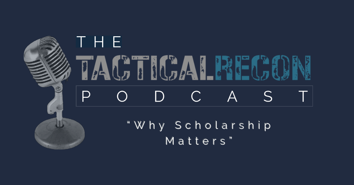 Why Scholarship Matters